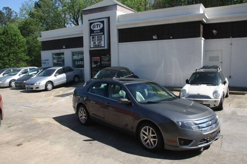2012 Ford Fusion for sale at GTI Auto Exchange in Durham NC