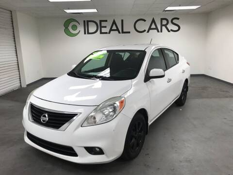 2013 Nissan Versa for sale at Ideal Cars in Mesa AZ