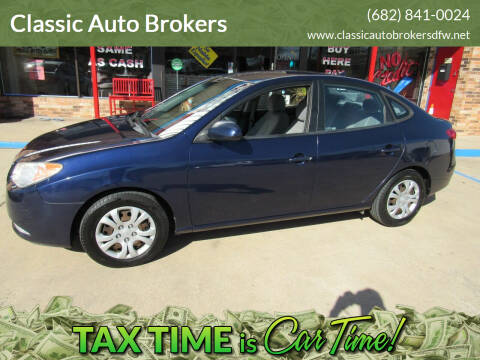 2010 Hyundai Elantra for sale at Classic Auto Brokers in Haltom City TX