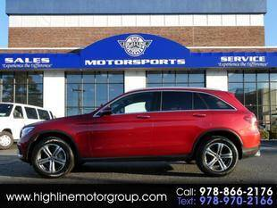 2017 Mercedes-Benz GLC for sale at Highline Group Motorsports in Lowell MA