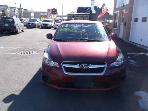 2013 Subaru Impreza for sale at sharp auto center in Worcester MA