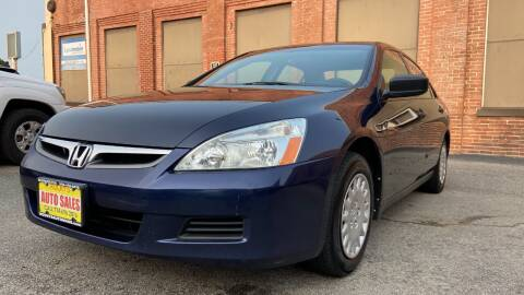 2007 Honda Accord for sale at Rocky's Auto Sales in Worcester MA