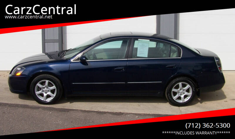 2005 Nissan Altima for sale at CarzCentral in Estherville IA