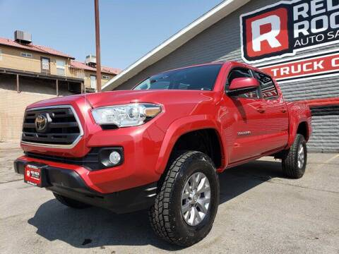 2019 Toyota Tacoma for sale at Red Rock Auto Sales in Saint George UT