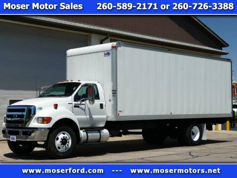 2015 Ford F-750 Super Duty for sale at Moser Motors Of Portland in Portland IN