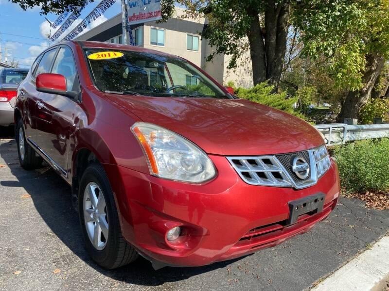 2013 Nissan Rogue for sale at WOLF'S ELITE AUTOS in Wilmington DE