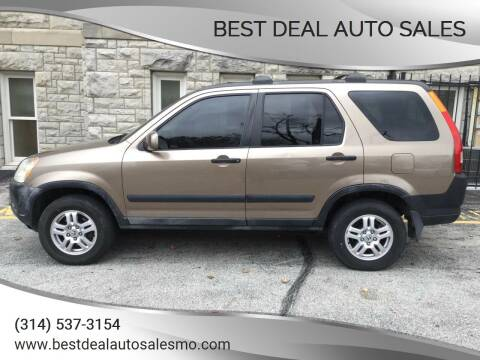 2002 Honda CR-V for sale at Best Deal Auto Sales in Saint Charles MO