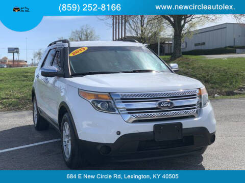 2013 Ford Explorer for sale at New Circle Auto Sales LLC in Lexington KY