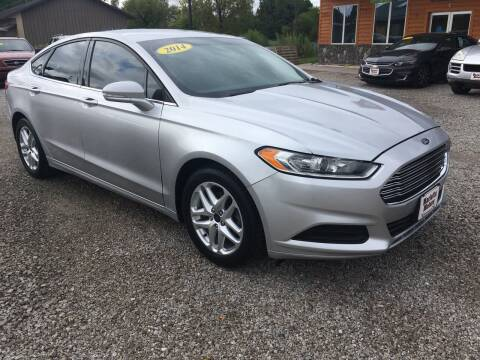 2014 Ford Fusion for sale at MARIETTA MOTORS LLC in Marietta OH