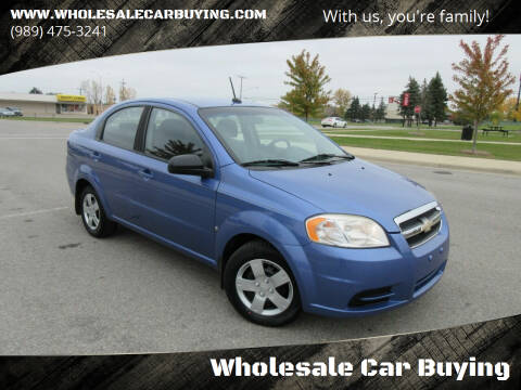 2009 Chevrolet Aveo for sale at Wholesale Car Buying in Saginaw MI