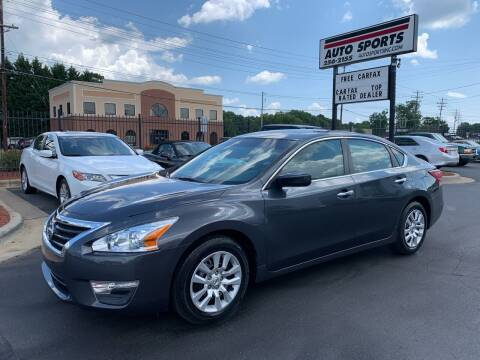 2013 Nissan Altima for sale at Auto Sports in Hickory NC