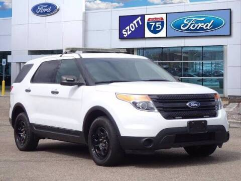 2015 Ford Explorer for sale at Szott Ford in Holly MI