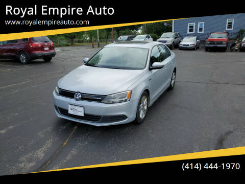 2013 Volkswagen Jetta for sale at Royal Empire Auto in Milwaukee WI