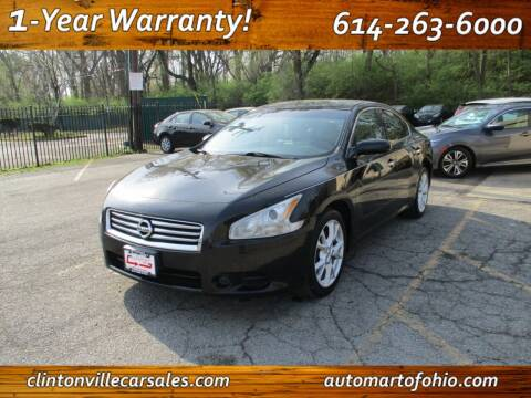 2014 Nissan Maxima for sale at Clintonville Car Sales - AutoMart of Ohio in Columbus OH