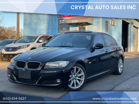 2010 BMW 3 Series for sale at Crystal Auto Sales Inc in Nashville TN