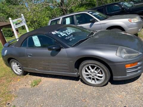 2002 Mitsubishi Eclipse Spyder for sale at Snap Auto in Morganton NC