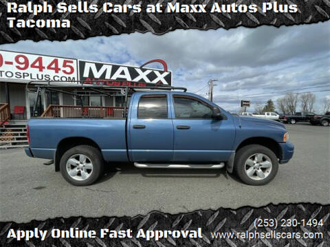 2005 Dodge Ram Pickup 1500 for sale at Ralph Sells Cars at Maxx Autos Plus Tacoma in Tacoma WA