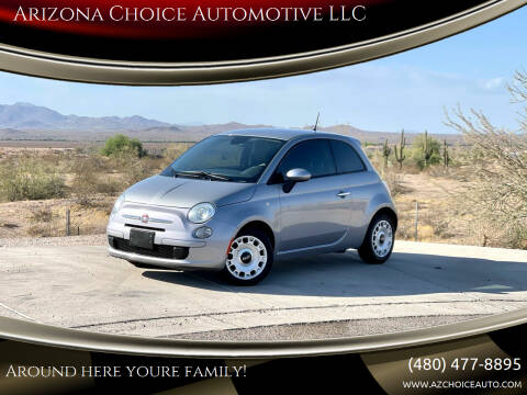 2015 FIAT 500 for sale at Arizona Choice Automotive LLC in Mesa AZ