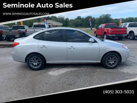 2007 Hyundai Elantra for sale at Seminole Auto Sales in Seminole OK