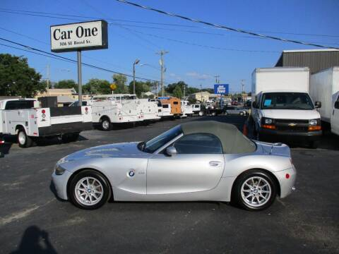 2003 BMW Z4 for sale at Car One in Murfreesboro TN