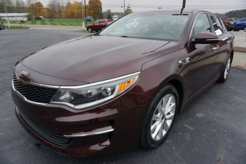 2016 Kia Optima for sale at MyEzAutoBroker.com in Mount Vernon OH
