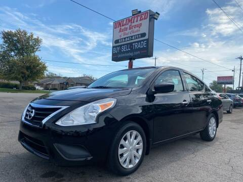 2015 Nissan Versa for sale at Unlimited Auto Group in West Chester OH