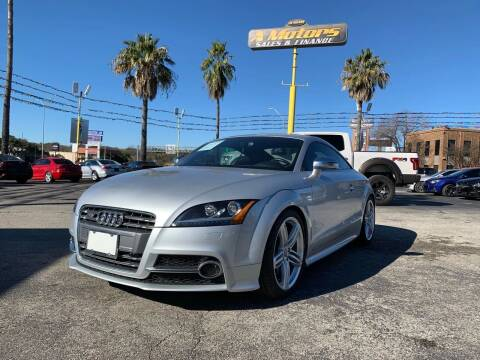 2012 Audi TTS for sale at A MOTORS SALES AND FINANCE in San Antonio TX