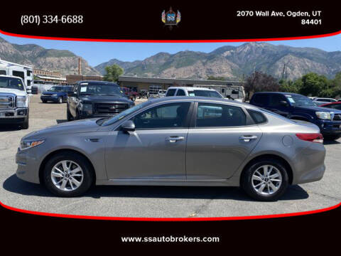 2018 Kia Optima for sale at S S Auto Brokers in Ogden UT