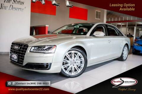 2015 Audi A8 L for sale at Quality Auto Center in Springfield NJ