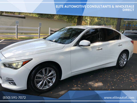 2015 Infiniti Q50 for sale at Elite Automotive Consultants & Wholesale Direct in Tallahassee FL