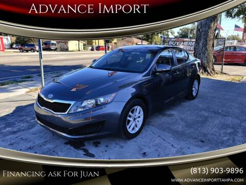 2011 Kia Optima for sale at Advance Import in Tampa FL