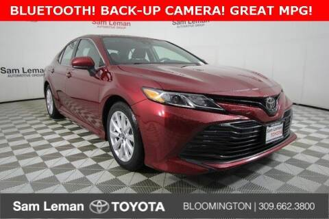 2018 Toyota Camry for sale at Sam Leman Mazda in Bloomington IL