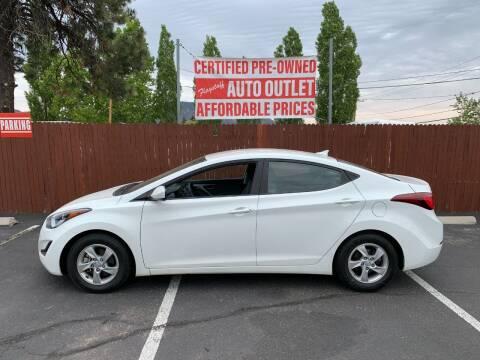 2014 Hyundai Elantra for sale at Flagstaff Auto Outlet in Flagstaff AZ
