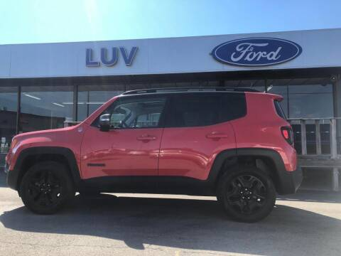 2018 Jeep Renegade for sale at Luv Motor Company in Roland OK