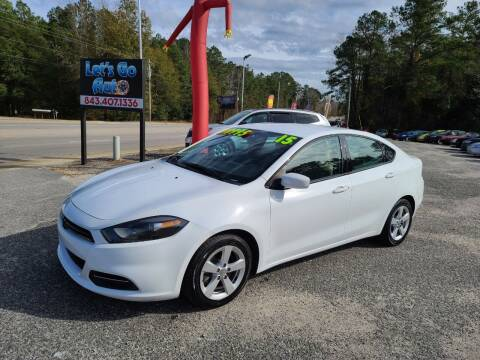 2015 Dodge Dart for sale at Let's Go Auto in Florence SC