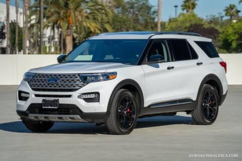 2021 Ford Explorer for sale at Euro Auto Sales in Santa Clara CA
