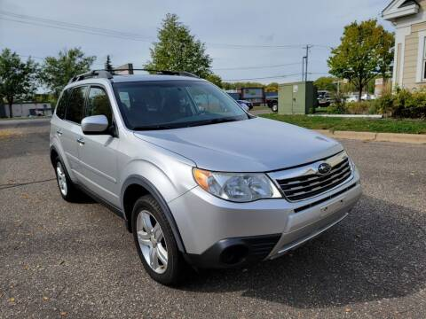 2009 Subaru Forester for sale at Fleet Automotive LLC in Maplewood MN
