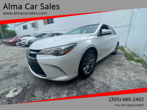 2017 Toyota Camry for sale at Alma Car Sales in Miami FL
