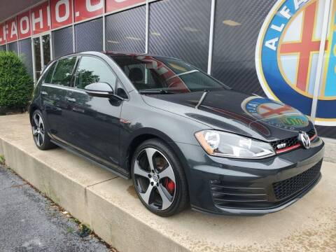 2017 Volkswagen Golf GTI for sale at Alfa Romeo & Fiat of Strongsville in Strongsville OH