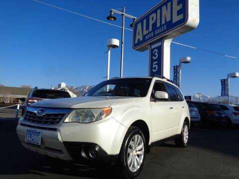 2012 Subaru Forester for sale at Alpine Auto Sales in Salt Lake City UT