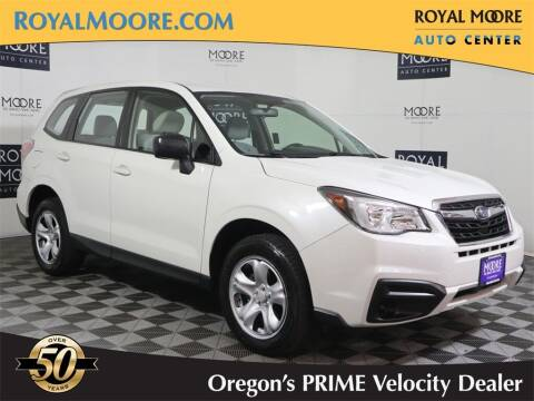 2018 Subaru Forester for sale at Royal Moore Custom Finance in Hillsboro OR