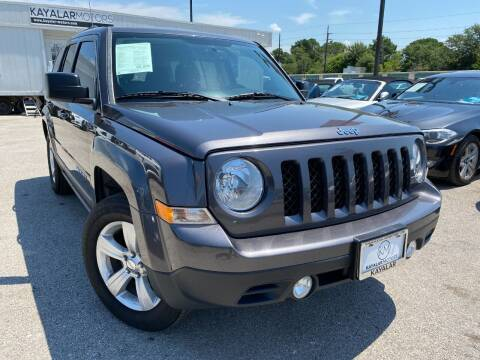 2015 Jeep Patriot for sale at KAYALAR MOTORS in Houston TX
