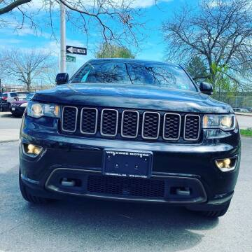 2017 Jeep Grand Cherokee for sale at Welcome Motors LLC in Haverhill MA