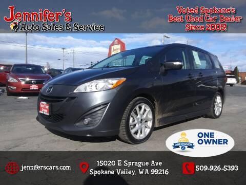 2014 Mazda MAZDA5 for sale at Jennifer's Auto Sales in Spokane Valley WA
