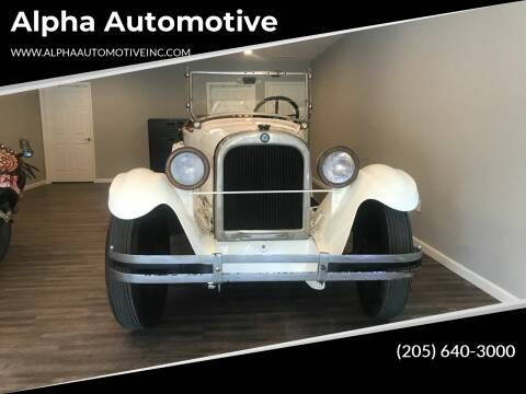 1925 Dodge Classic  for sale at Alpha Automotive in Odenville AL