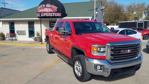 2017 GMC Sierra 2500HD for sale at DICK'S MOTOR CO INC in Grand Island NE