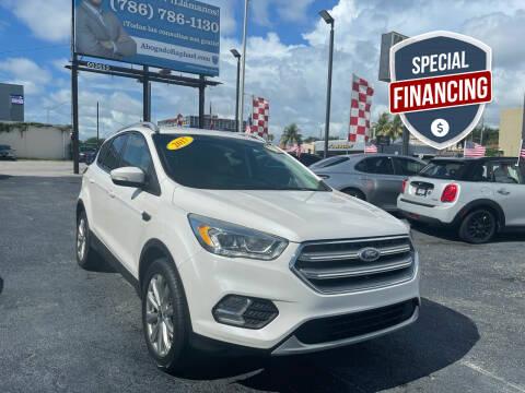 2017 Ford Escape for sale at MACHADO AUTO SALES in Miami FL