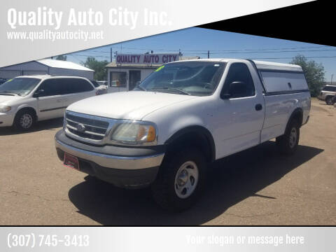 2003 Ford F-150 for sale at Quality Auto City Inc. in Laramie WY