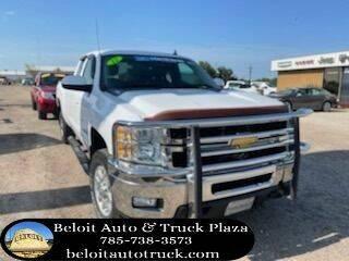 2012 Chevrolet Silverado 2500HD for sale at BELOIT AUTO & TRUCK PLAZA INC in Beloit KS