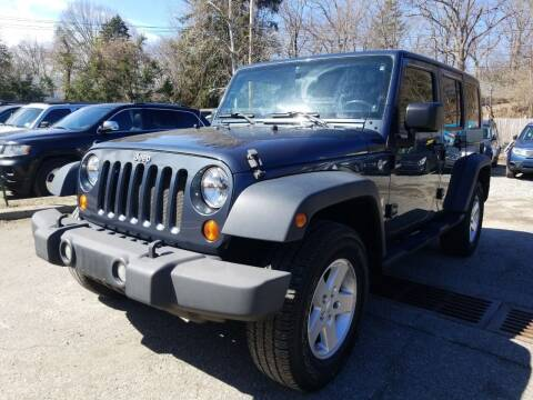 2008 Jeep Wrangler Unlimited for sale at AMA Auto Sales LLC in Ringwood NJ